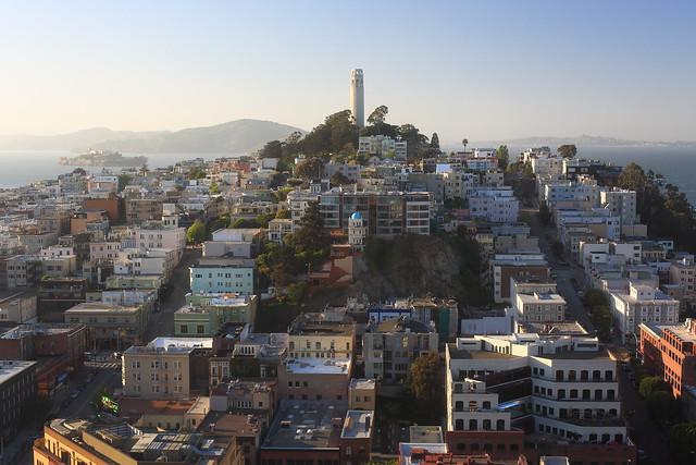 San Francisco's Coit Tower (Explored)