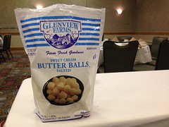 OH NOES BUTTER BALLS FROM A BAG!