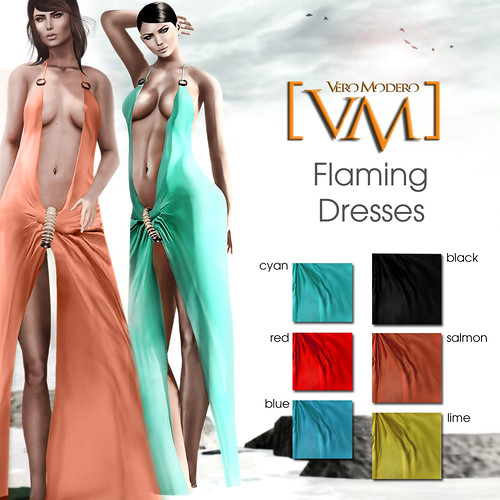 [VM] VERO MODERO  Flaming Dresses All colours