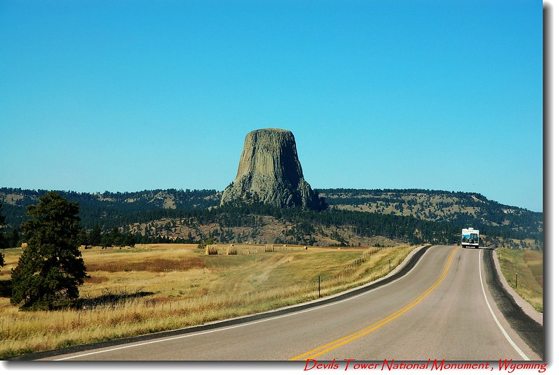 Devils Tower from WY 24 E