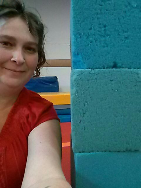 At parent/tot gymnastics