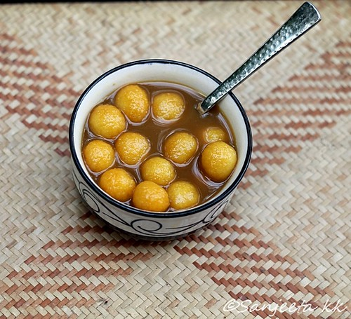 Tamilian recipe-Paal Kozhukattai