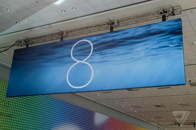 iOS 8 banner WWDC 2014
