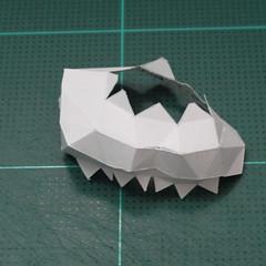 วิธีทำโมเดลกระดาษคุกกี้รสคุกกี้แอนด์ครีม  (Cookie Run Cream Cookie Papercraft Model) 010