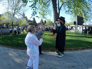 scenes from a UVM graduation