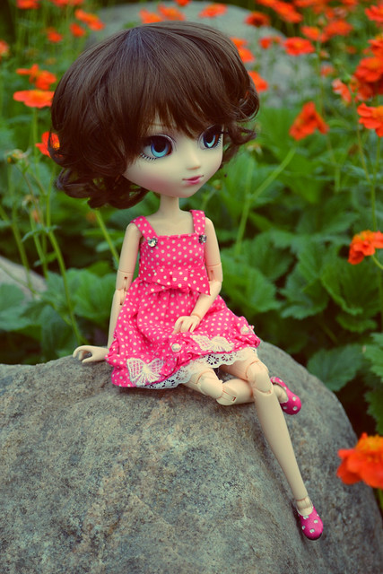 alexia and sea of flowers (pullip eos)