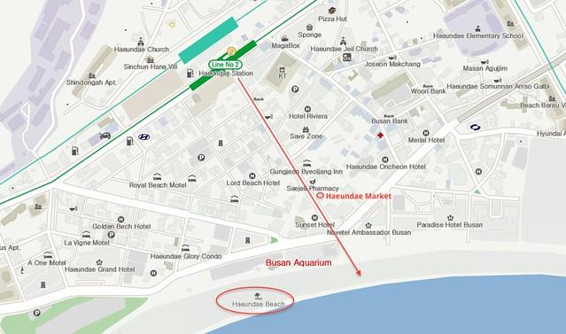 Haeundae-map