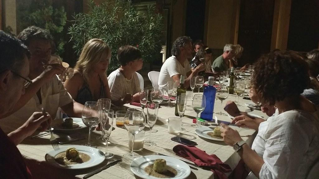 Mesa cena Ca n'Ignasi