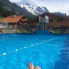 Not your average poolside view