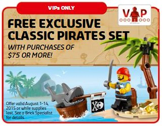 LEGO Shop Classic Pirates Set