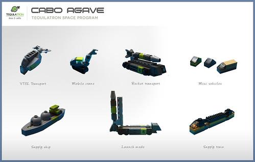 Cabo Agave - DA2 - Vehicles