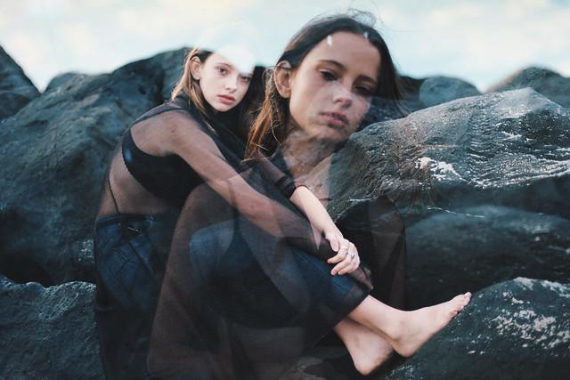 Portrayal in black&blue
