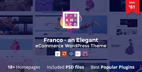 Franco v1.2.3 - Elegant WooCommerce WordPress Theme