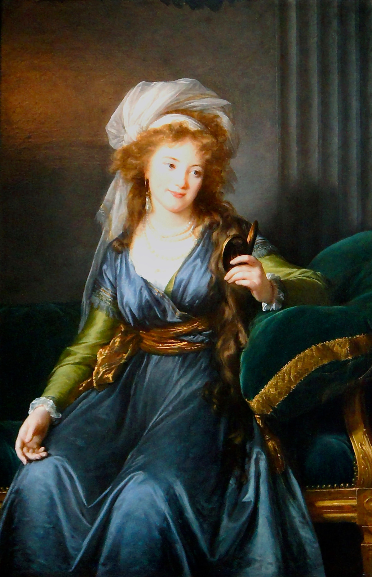 Portrait of Countess Catherine Skavronskaya by Élisabeth Vigée-Lebrun (1790)