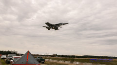 16:9 of Panning @BoeingDefense EA-18G On Final Approach