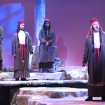 Jesus Christ Superstar - Arvada Center 2017 - Men's Ensemble with Joe Callahan (Annas) and Stephen Day (Caiaphus) P. Switzer Photography 2017