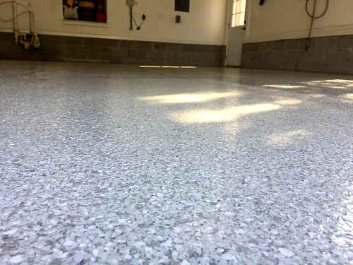 Gray Epoxy Garage Flooring - Durham, NC