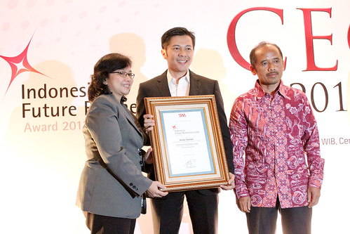 The Indonesia Future Business Leader 2013: Dicky Saelan.