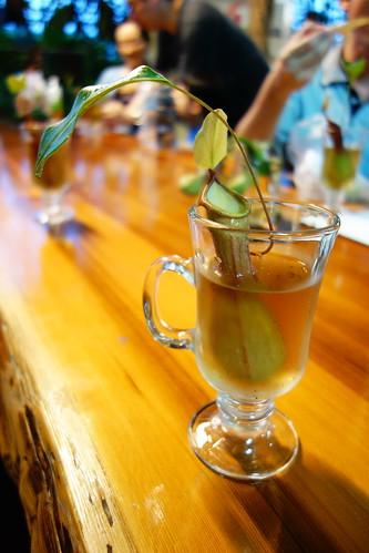 豬籠草果凍香草汁