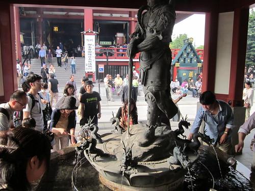 Asakusa Shrine (Asakusa, Tokyo, Japan)
