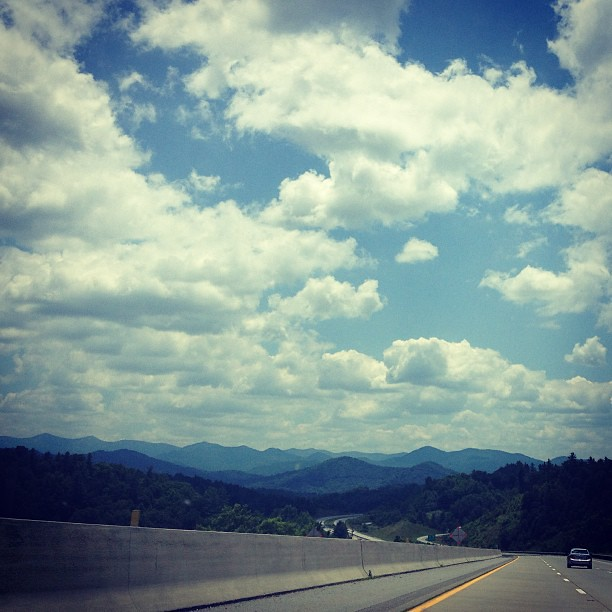 This drive never fails to thrill. #avl #ilovemountains