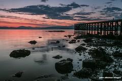 newark pier sunset(no bells, no whistles)