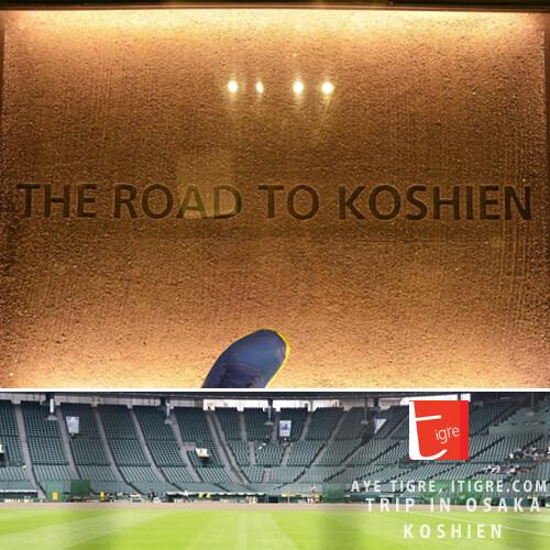 TRIP IN OSAKA-Koshien Stadium 甲子園球場見習