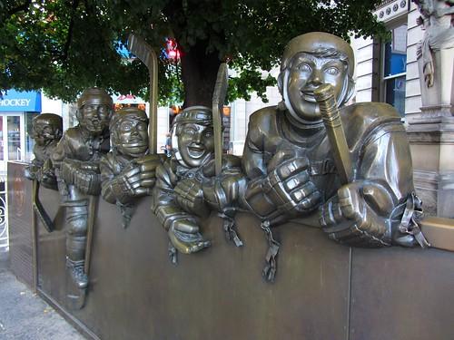 Hockey Hall of Fame Statue