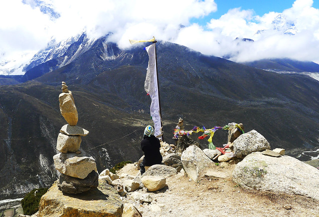 acclimatizing in Dingboche on the Everest Base Camp trail