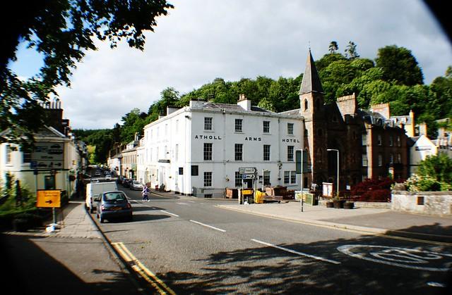 Atholl Street, Dunkeld, Scotland