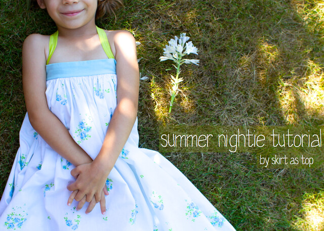 summer nightie tutorial