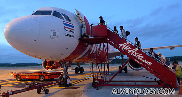 Family flight experience with AirAsia