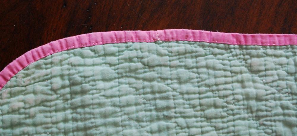 Vintage Quilt Scrap | Detail