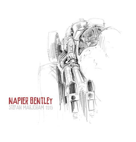 Napier Bentley by Stefan Marjoram