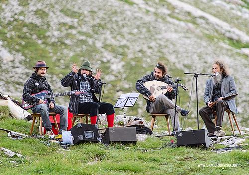Dolomites - Val di Fassa - Vinicio Capossela at Vajolet 11