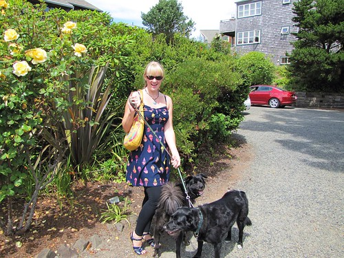 Liz and pets