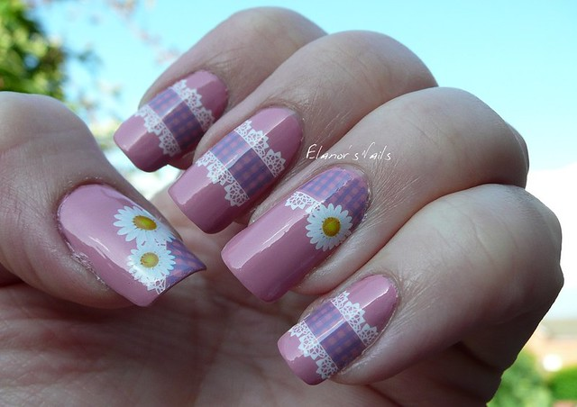 gingham decals 5