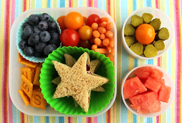 Colorful Preschooler Bento #486