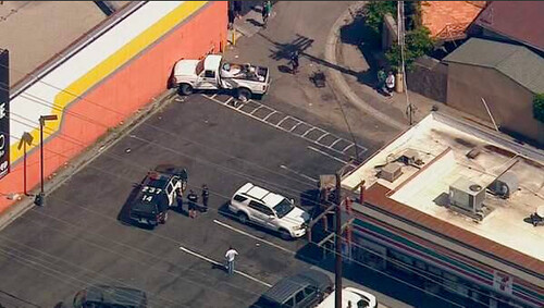 Police Pursuit Venice Beach