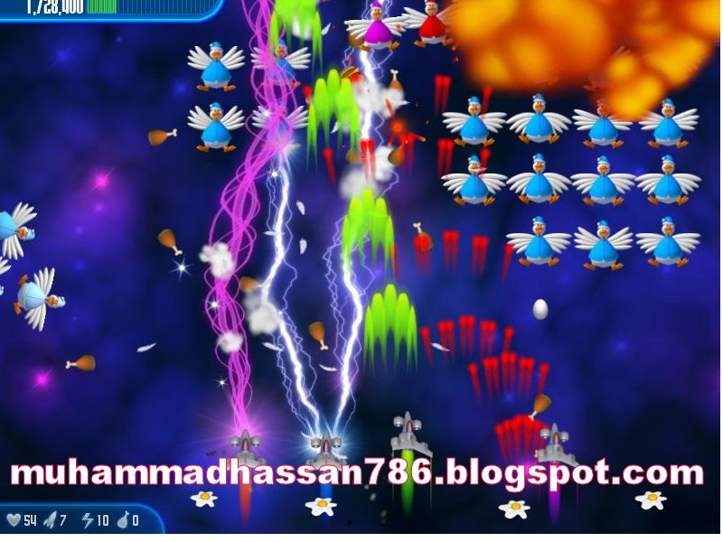 Chicken Invaders 4 Ultimate Omelete wgamesdown 3