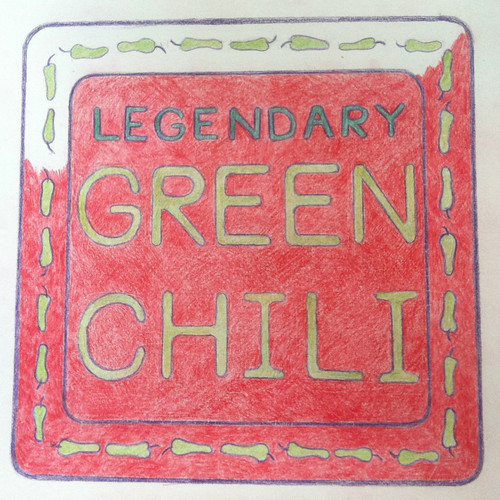 Legendary Green Chili (Illustration as of Sept. 12, 2013) by randubnick