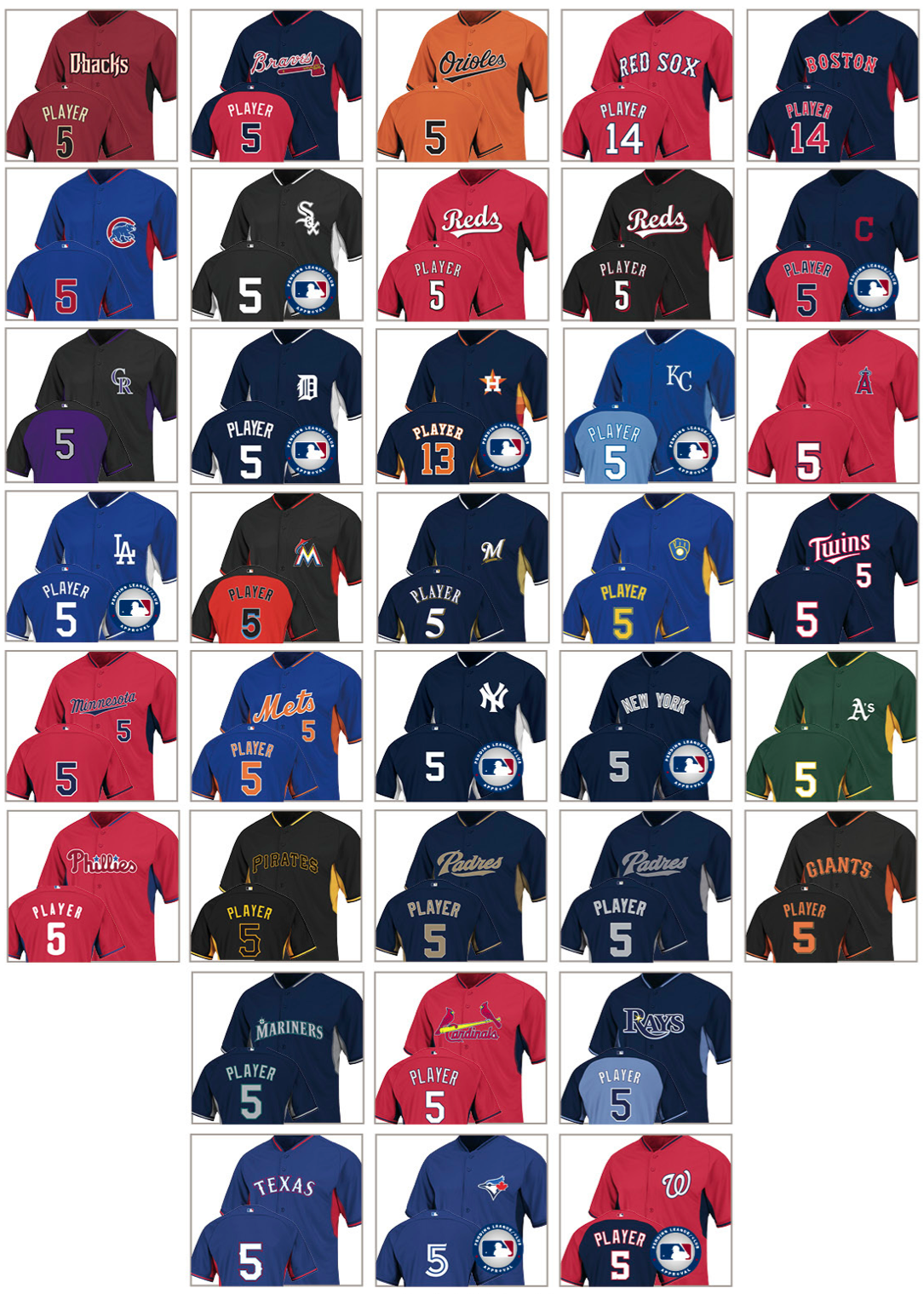 c007b738e59 Uni Watch exclusive  New 2014 BP jerseys - SweetSpot- ESPN