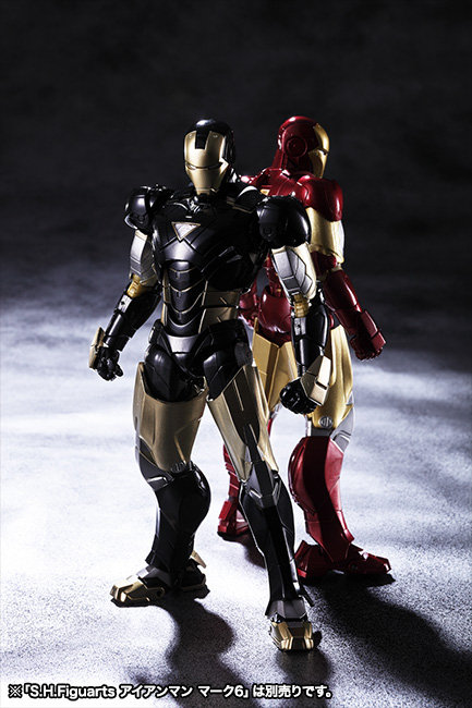 S.H.Figuarts Iron Man Black Version