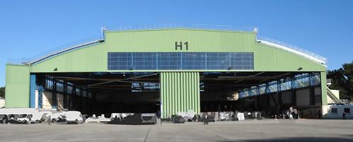 Hangar H1 à Lann-Bihoué