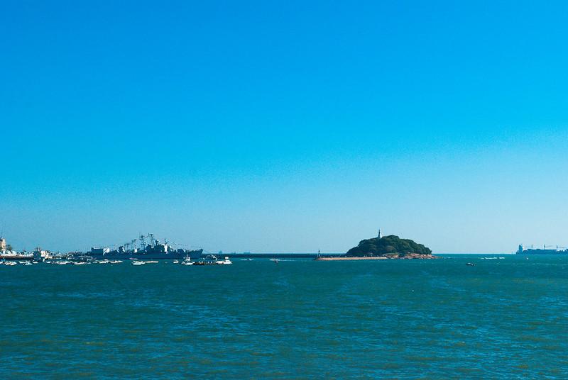 青岛石老人海滩,很多游客推荐