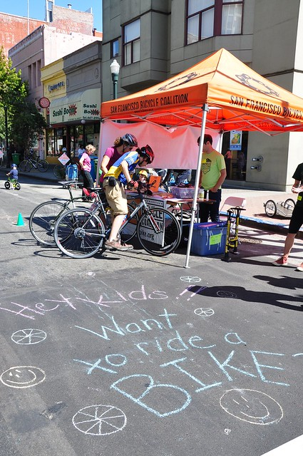 SF Bike Coalition - Sunday street