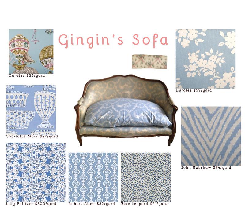 Gingin's Sofa