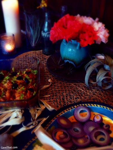 De Los Muertos Themed Dinner Party on Gift Style Blog Gave That