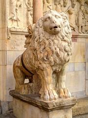 Lion at the Duomo, Modena
