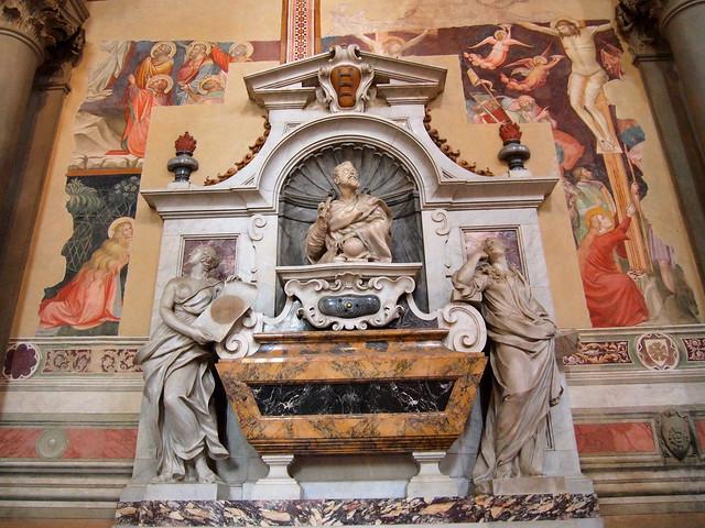 Galileo's grave in Santa Croce